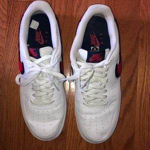Previously worn Air Force One Size 10.
